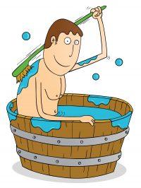 basisch baden, Moebert probas, Entschlackung, Entgiftung